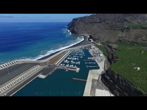 Strand und Puerto de Tazacorte