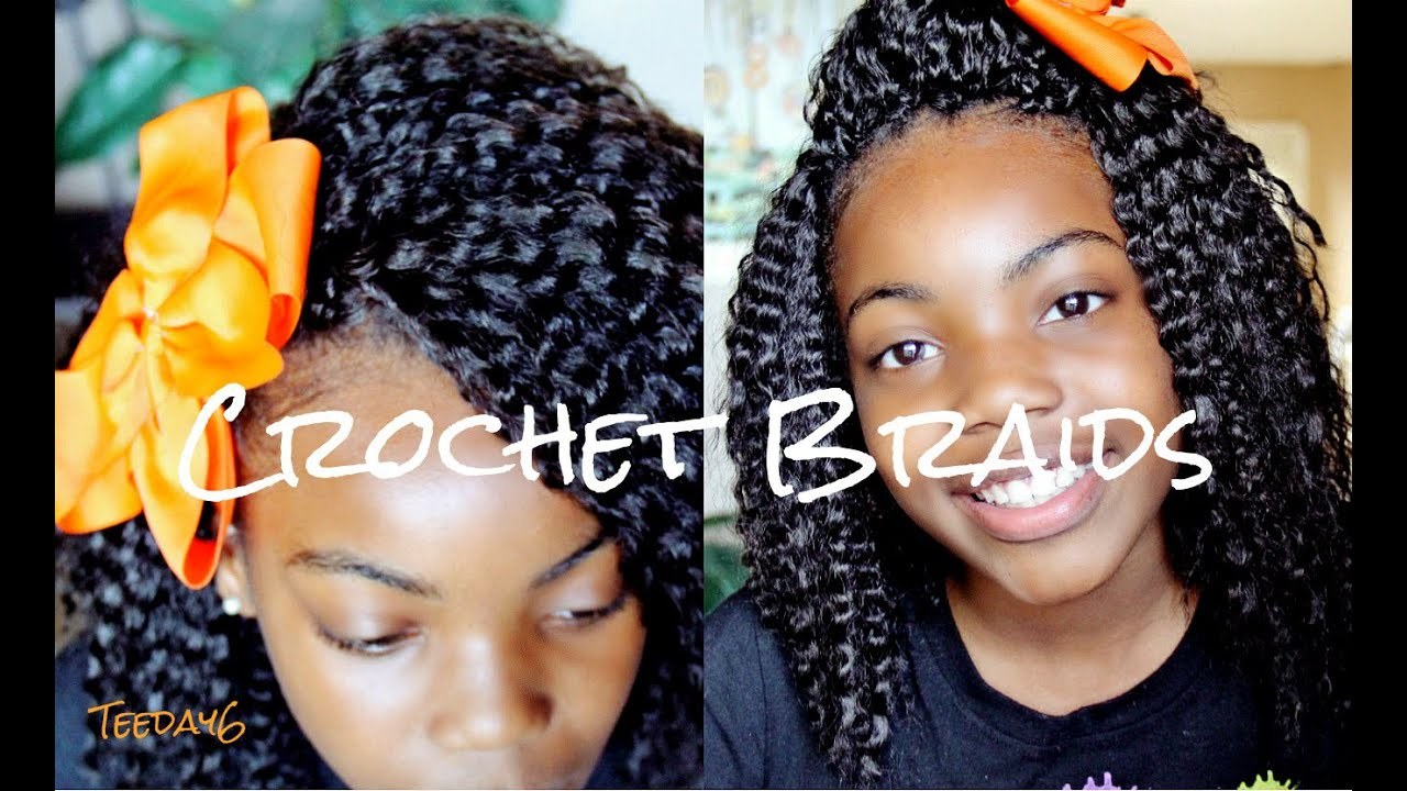 Crochet Hair For Toddlers : Crochet Braids (Little Girls Edition?) - YouTube