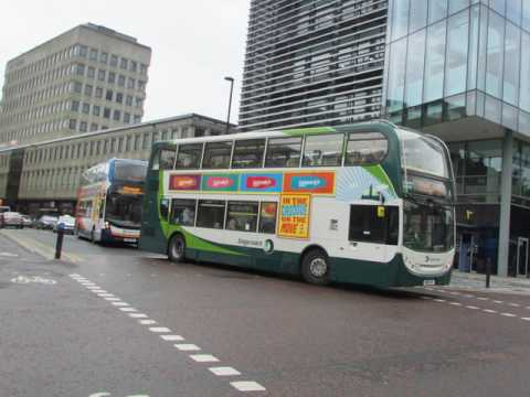 My Slideshow GO North east  stagecoach  Arriva buses in Newcastle upon tyne 20/05/17