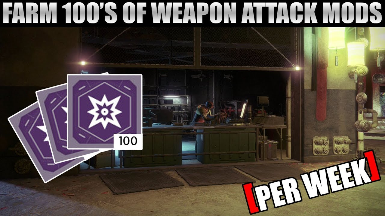how to get legendary mods in destiny 2