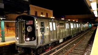MTA New York City Subway : Bombardier Transportation R179 Test Train 3010-3019 @ Newkirk Plaza