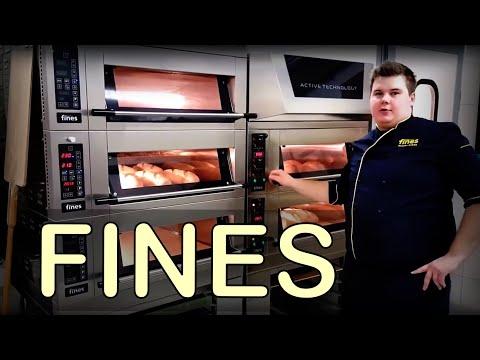Подовая печь для мини пекарни Fines FD68