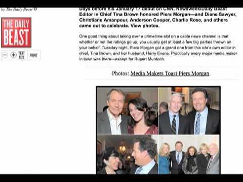 "CNN's ""Piers Morgan Tonight"" Executes ""The PR Driv..."