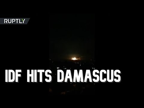 Israel hits Iranian & Syrian military targets in Damascus