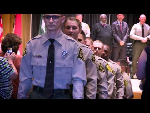 NC Wildlife Law Enforcement 56th Basic School Graduation