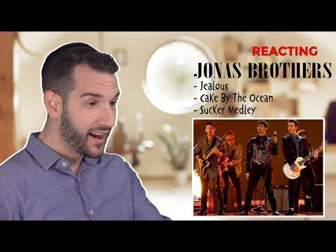 VOCAL COACH reacts to The Jonas Brothers singing their HITS