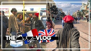 We Went To Paris and London! | The Euro VLOG