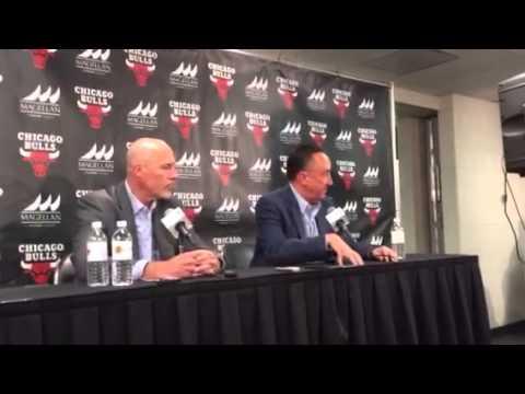 Gar Forman on firing of Bulls coach Tom Thibodeau