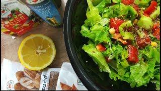 Vitalia healthy food - Oсвежувачка салата со наут (deit, vege)