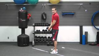 How To Do A Posterior Dumbbell Swing | Exercise for Lower Back, Butt, Hamstrings | HASfit 111811