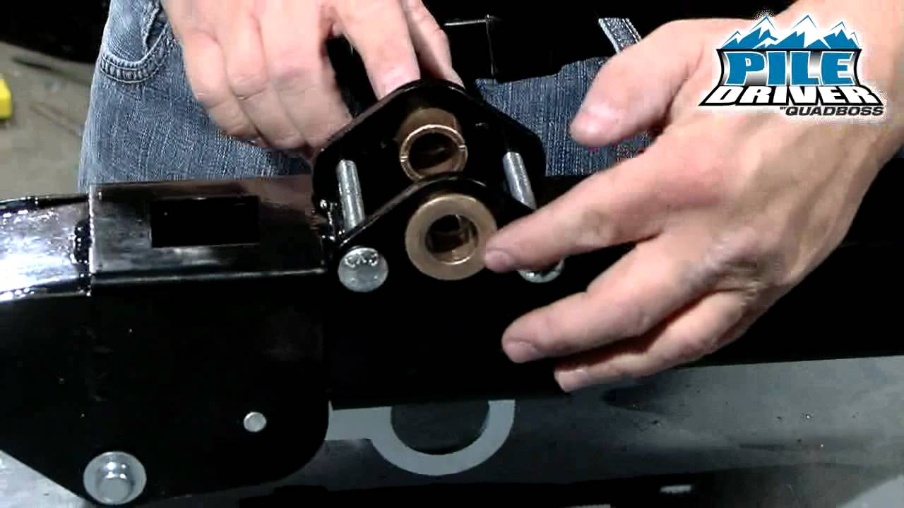 How To Install The Manual Lift Quadboss Youtube Winch Wiring Diagram