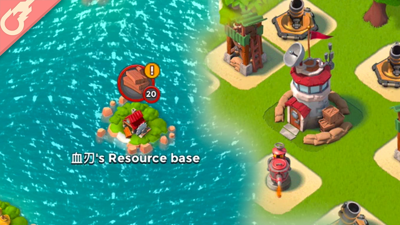 Top 5 Ways Boom Beach is Better Than Clash of Clans