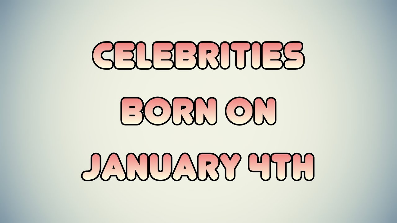 Today's Famous Birthdays - On This Day