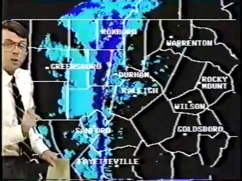 WRAL weather bulletin, 22189