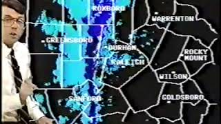 WRAL weather bulletin, 2/21/89