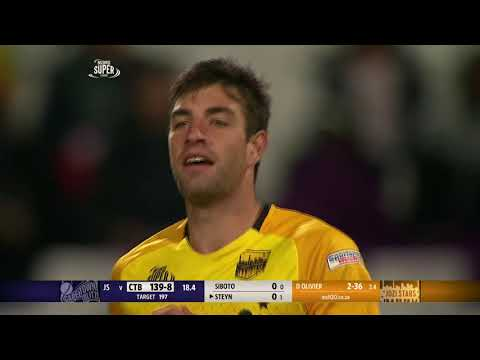Duanne Olivier Back-to-Back Wickets