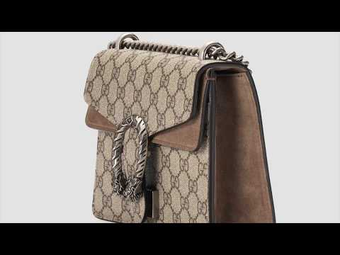 561d191c5c2 How to spot a fake Gucci Dionysus bag - YouTube