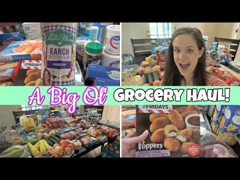 HUGE Grocery Haul & Meal Plan! | Family Of (Almost) Seven!