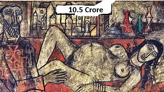 Top 9 Most Expensive Indian Artists