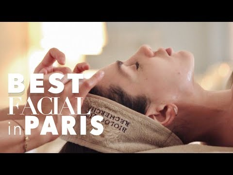 THE BEST FACIAL IN  PARIS | ALI ANDREEA