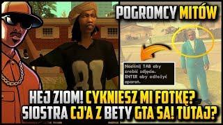 Ziomek cykniesz fotkę? + Kendl z Bety GTA SA :D - CJ w roli Pogromcy Mitów w GTA San Andreas! #02