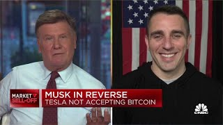 Crypto expert reacts to Elon Musk's reversal on accepting bitcoin
