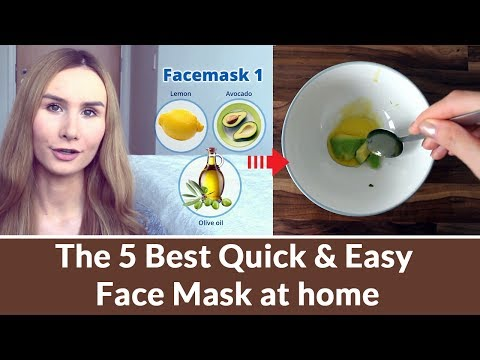 How To Make Natural & Quick Face Mask Recipes At Home?