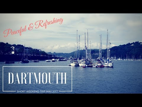 Short trip to English town Dartmouth, Devon (Quick travel guide)