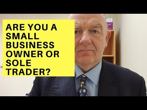 Are You a Small Irish Business Owner or Sole Trader?