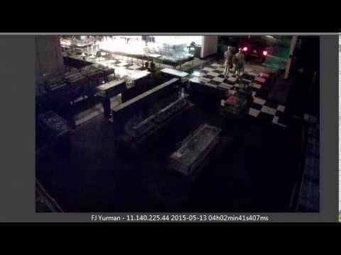 Interior Surveillance - Bloomingdale's Burglary 5-13-2015