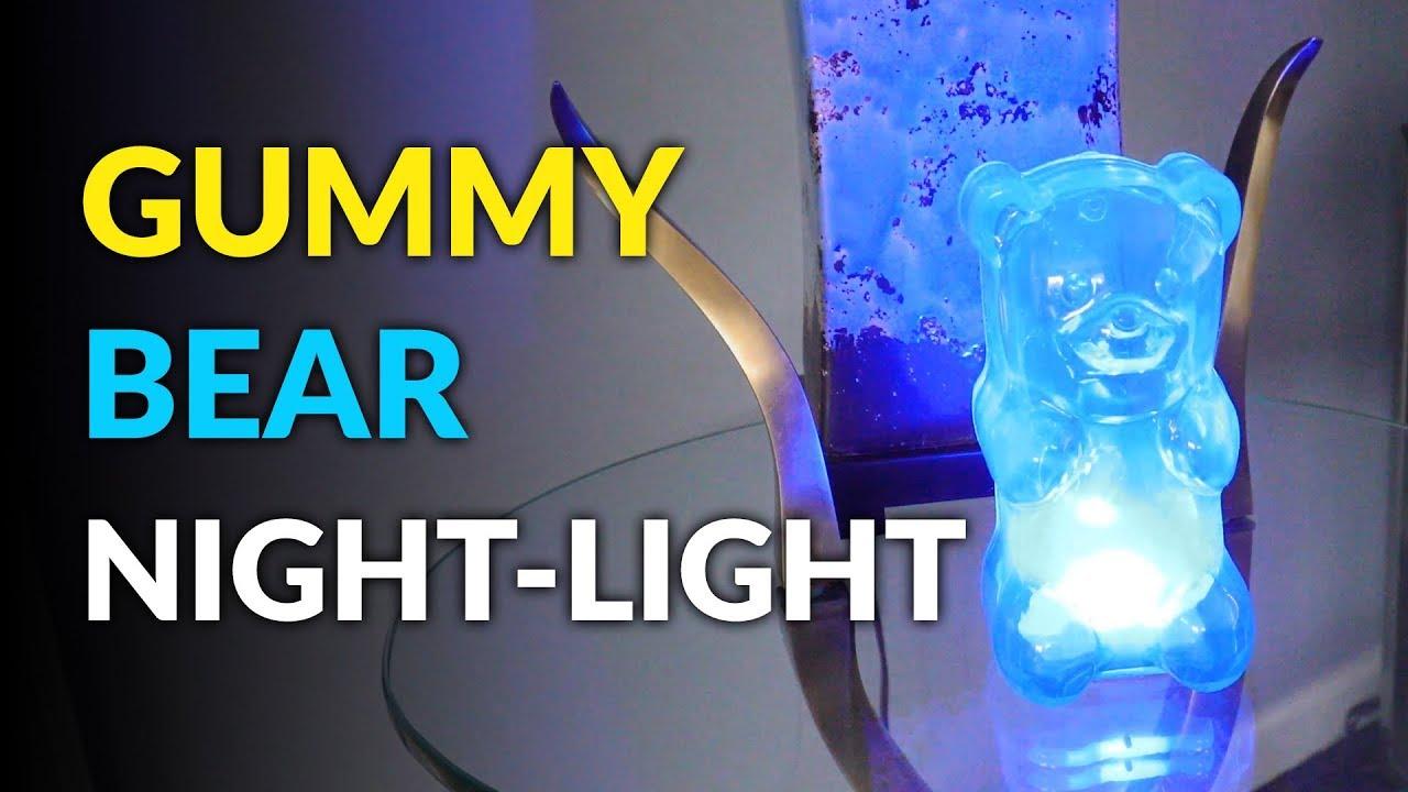 gummy bear night light youtube