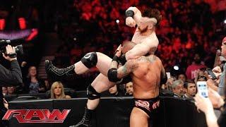 Randy Orton vs. Sheamus: Raw, June 1, 2015