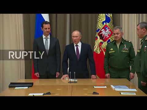 Russia: Putin and Assad discuss political settlement in Syria
