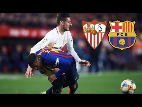 Sevilla vs Barcelona [2-0], Copa del Rey 2019, Quarter-Final - MATCH REVIEW