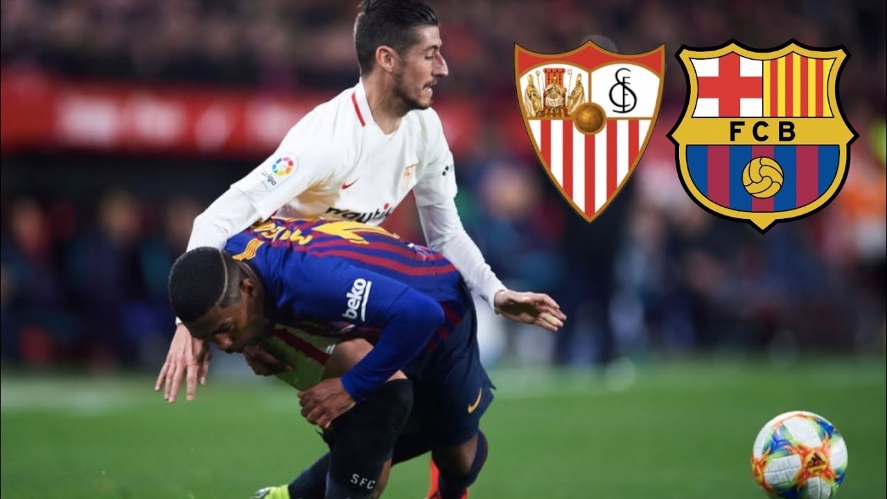 Sevilla vs Barcelona [2-0], Copa del Rey 2019, Quarter-Final ...