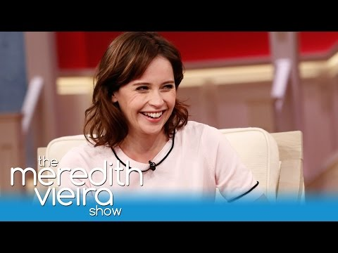 Felicity Jones Attempts a New York Accent!  The Meredith Vieira