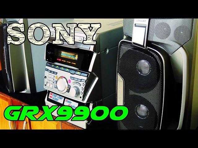 SONY HCD-GRX9900