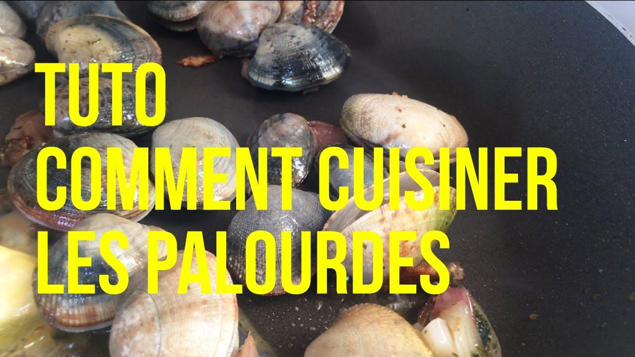 Tuto comment cuisiner les palourdes youtube - Comment cuisiner les morilles fraiches ...