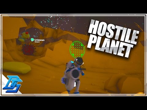 Astroneer - Part 8 -  Arid Planet , Iron Resource , Most Hostile Planet in the Game!