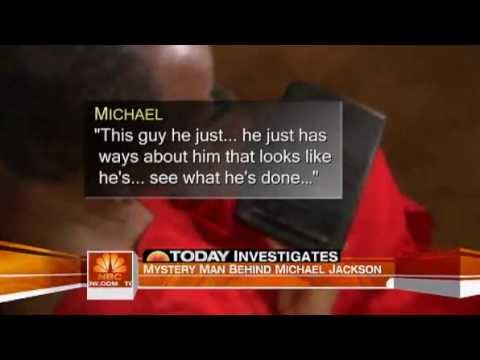 Michael Jackson talking about Tohme Tohme