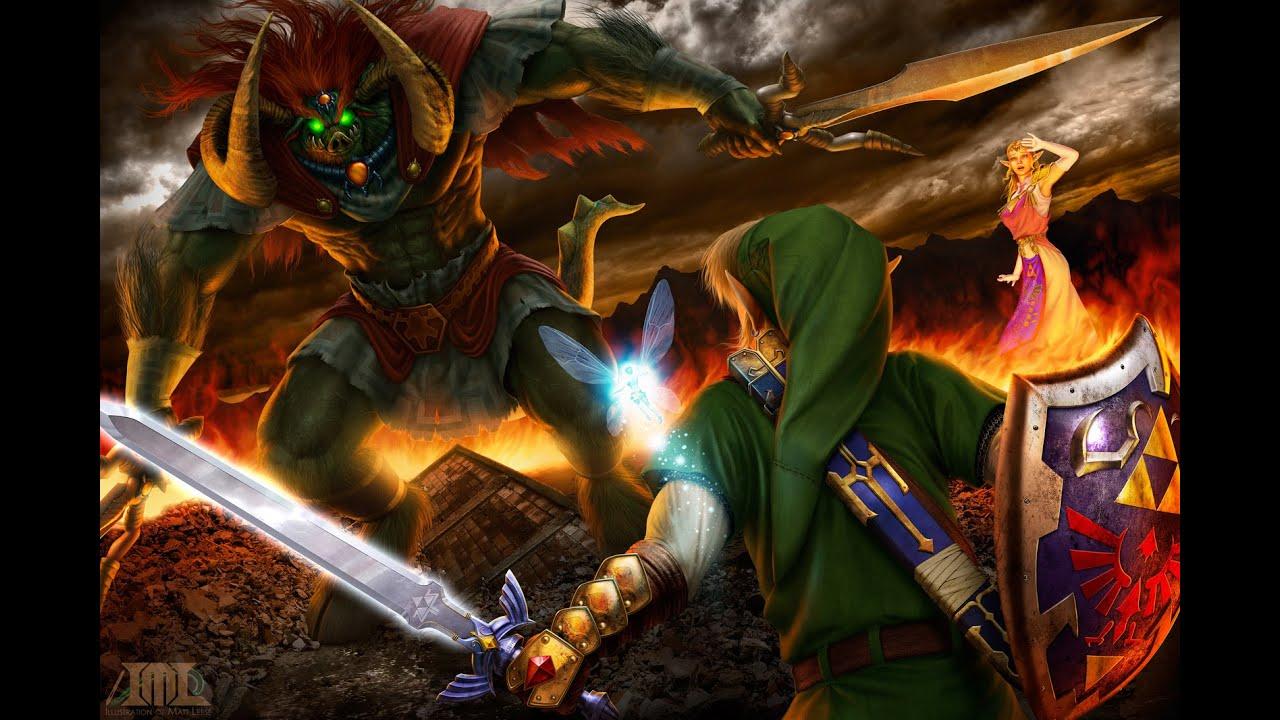 Image result for Link vs Ganondorf
