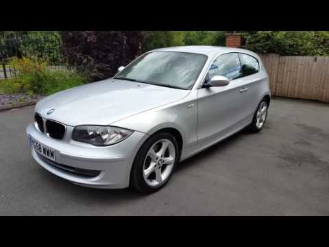 bmw 1 series 120i se 2 0 170ps 3 door hatchback manual. Black Bedroom Furniture Sets. Home Design Ideas