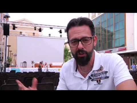 #Raccontandoci 2019 - VideoMagazine 1 - giovedì 11 luglio Gene Gnocchi