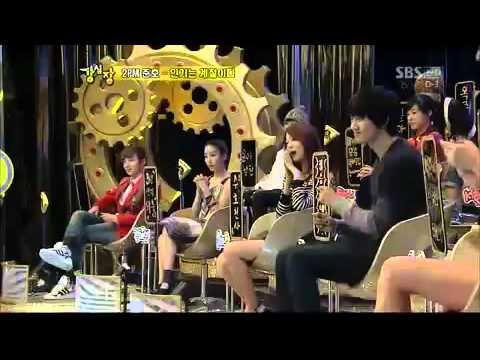 [100209] Junho (2PM) vs Eunhyuk (Super Junior) Strong Heart Dance Battle.mp4
