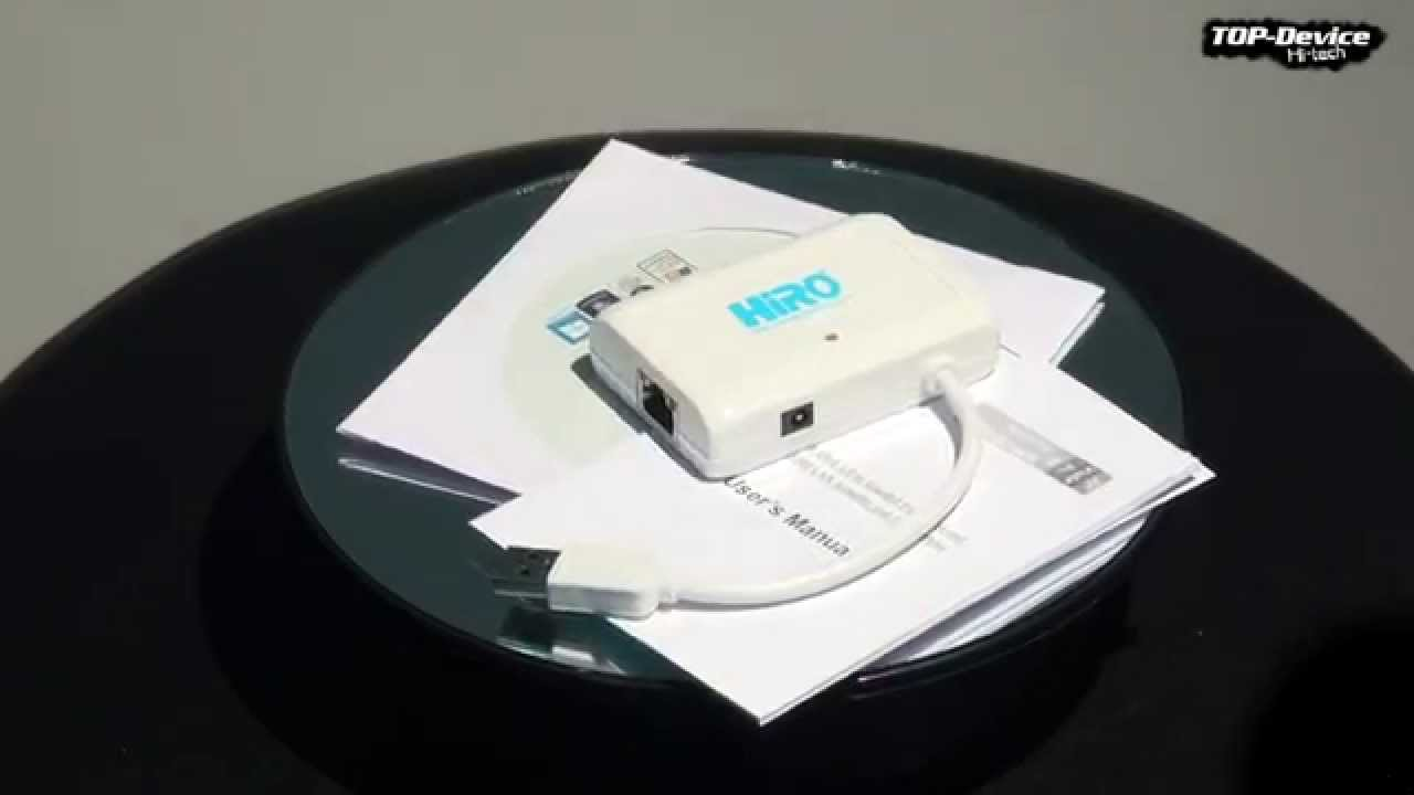 DRIVER: HIRO USB HUB