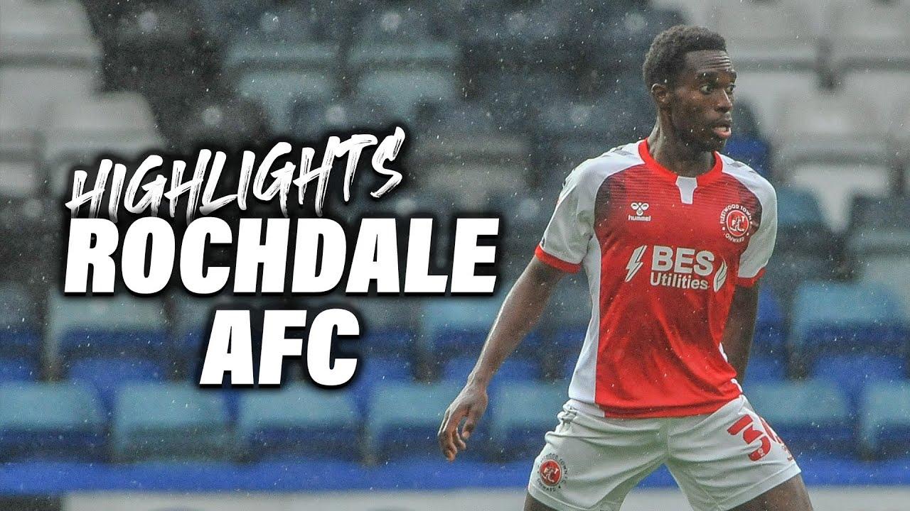 Rochdale 2-1 Fleetwood Town | Highlights
