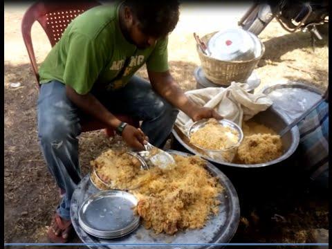 Indian Hindu Prepared Chicken Biryani For 60 People