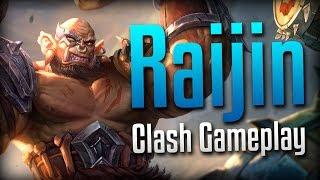 Smite: DRUMS OF WAR!!!- Warchief Raijin Clash Gameplay