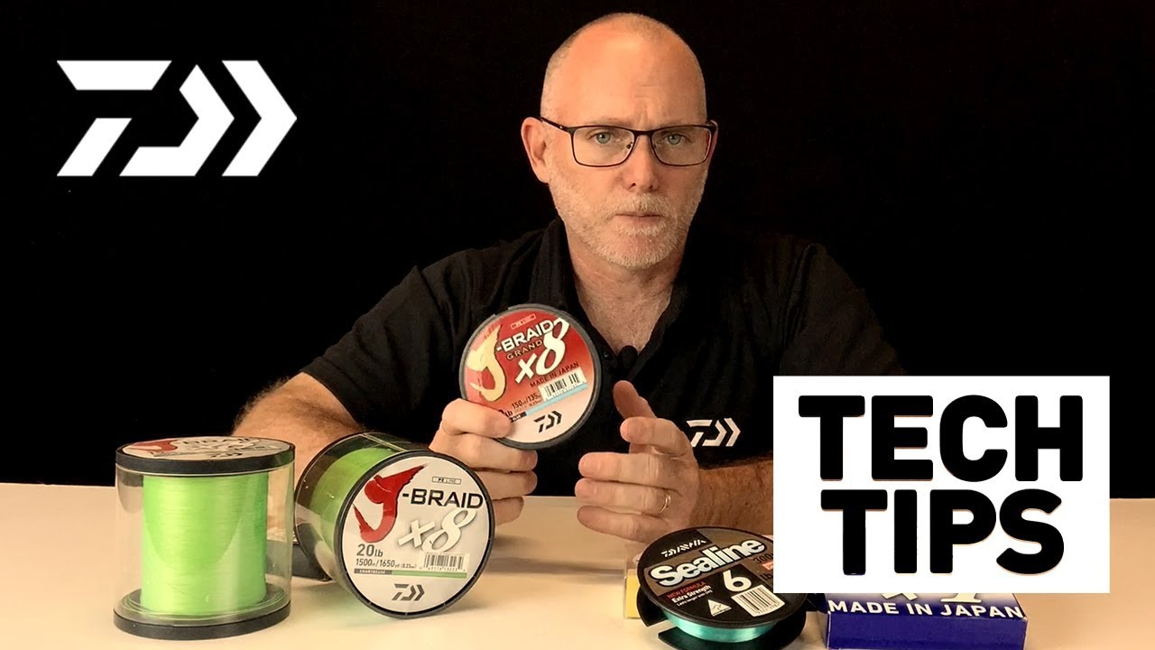 PE and Braid 101- Daiwa Tech Tips