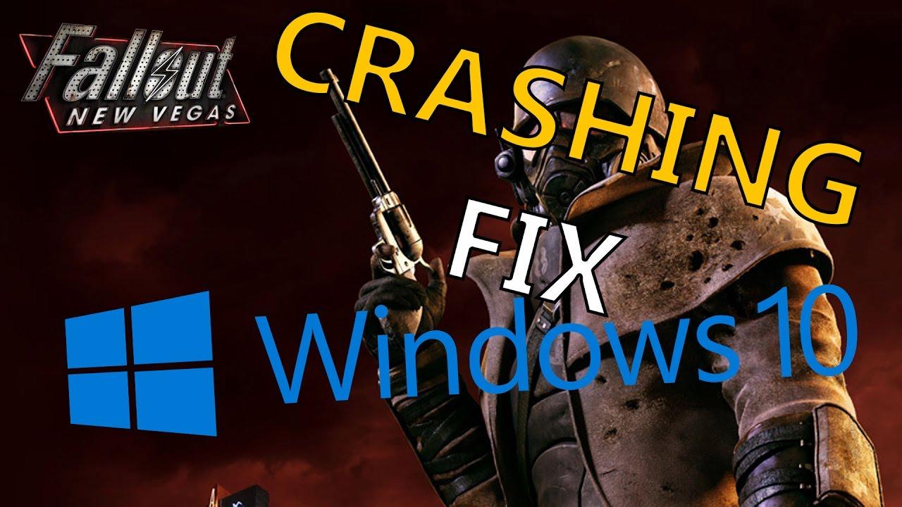 HOW TO FIX Fallout New Vegas CRASH Windows 10 2016